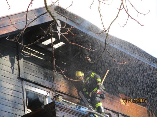 Brand Wohnhaus Mondsee am 31.12.2017