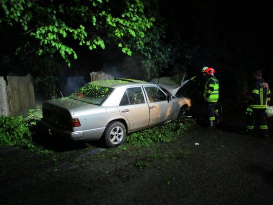 Verkehrsunfall Aufräumarbeiten am 01.05.2019