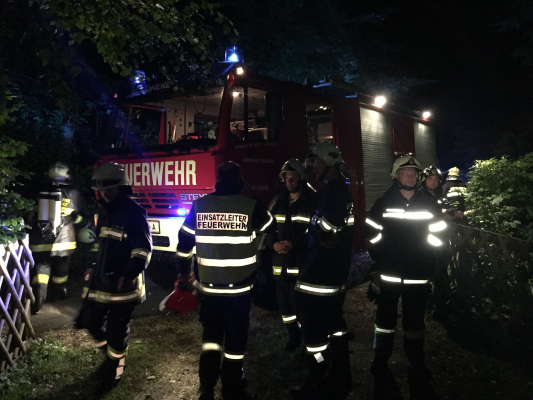 Einsatz Brandverdacht Schwarzindien am 12.08.2017