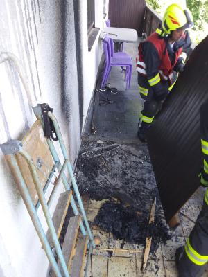 Brand Wohnhaus am 10.07.2020