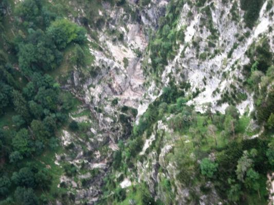 Brandverdacht Drachenwand am 04.08.2017
