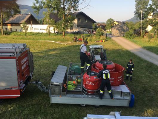 Waldbrand rund um den Almkogel am 30.06.2019