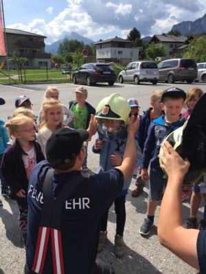 Besuch im Kindergarten am 26.06.2018