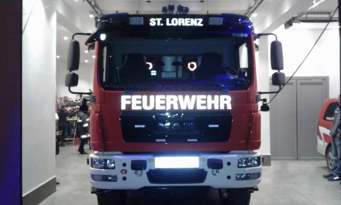 Abholung TLFA-2000 Fa.Rosenbauer am 23.01.2020