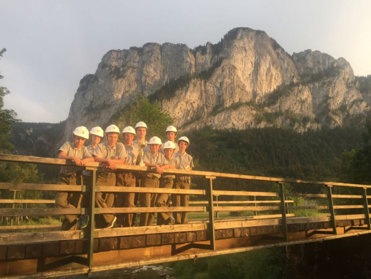 Erfolgreiche Bewerbssaison für Jugendgruppe St. Lorenz am 30.06.2018